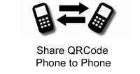 share qrcode phone to phone